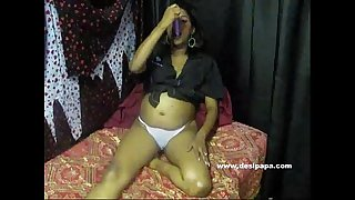 indian pregnant amateur on webcam