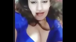 Indian Milf Showing Her Red Bra